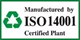 ISO 14001 Certified Plant