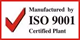 ISO 9001 Certified Plant